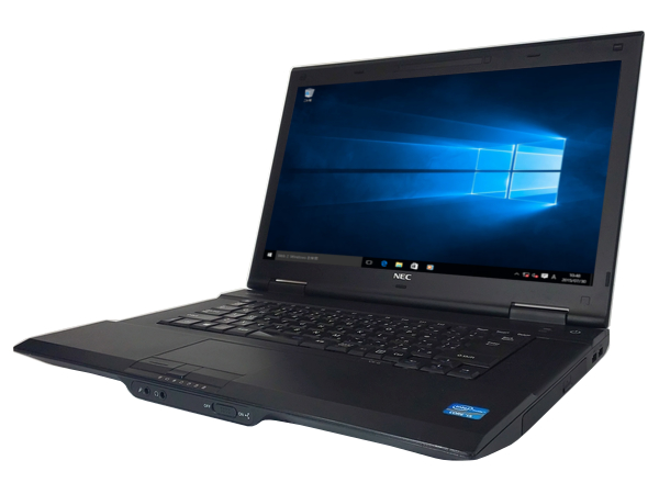 中古パソコン 【Windows10】[N120A][無線LAN対応] NEC VersaPro VK25L/X-G (Core i3 3120M 2.5GHz 4GB 320GB DVD-ROM Windows10 Pro 64bit)【中古ノートパソコン】【中古】