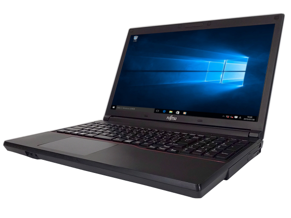 中古 ノートパソコン【Windows10】[F144A][テンキー搭載] 富士通 LIFEBOOK A574/H (Core i5 4300M 2.6GHz 4GB 320GB DVD-ROM Windows10 Professional 64bit)【中古パソコン】【アウトレット】