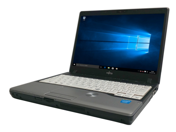 中古パソコン 【Windows10】[F44B] 富士通 LIFEBOOK P772/G (Celeron 1007U 1.5GHz 4GB 320GB 12.1インチ Windows10 Home 64bit)【中古】【アウトレット】