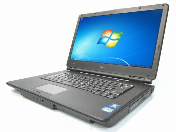 中古パソコン 【Windows7】[N90A][無線LAN対応] NEC VK25M/X-C (Core i5 2520M 2.5GHz 4GB 250GB DVDマルチ Windows7 Professional 64bit)【中古ノートパソコン】【中古】