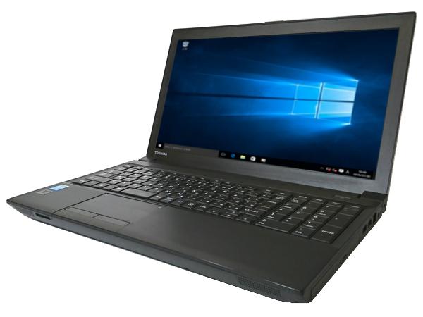 中古パソコン 【Windows10[Z16347342][無線LAN対応] 東芝 dynabook Satellite B554/K (Core i3 4000M 2.40GHz 4GB 320GB DVDマルチ Windows10 Pro)【中古ノートパソコン】【中古】