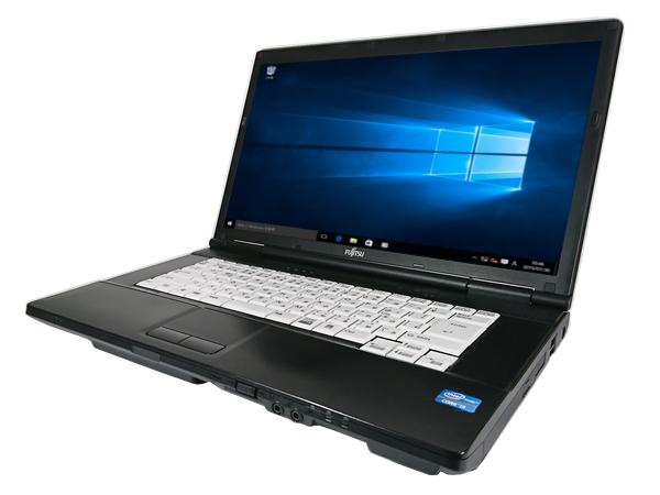 中古パソコン【Windows10】[F101AX][無線LAN対応] 富士通 LIFEBOOK A572/E (Core i5 3320M 2.6GHz 4GB 250GB DVDマルチ Windows 10 Pro 64bit)【中古PC】【ノートパソコン】