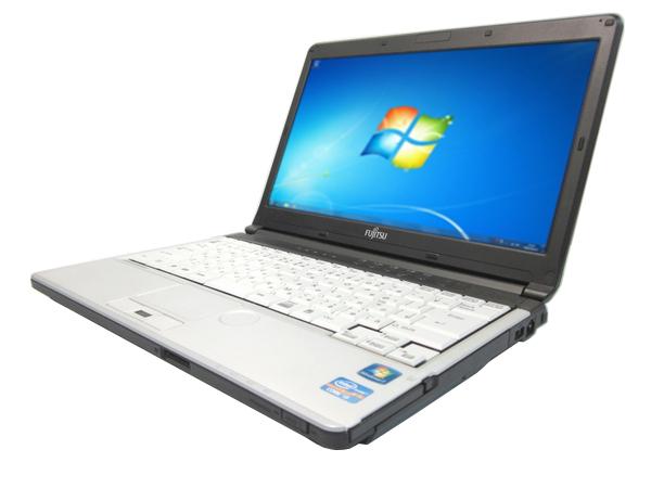 中古パソコン 【Windows7】[F39B] 富士通 LIFEBOOK S761/D (Core i5 2520M 2.5GHz 4GB 250GB DVD-ROM Windows7 Pro)【中古】【アウトレット】