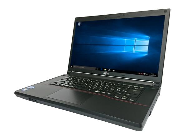 中古パソコン【Windows10】[F129A][無線LAN対応] 富士通 LIFEBOOK A573/G (Core i5 3340M 2.7GHz 4GB 320GB DVDマルチ Windows10 Pro 64bit)【中古ノートパソコン】【アウトレット】