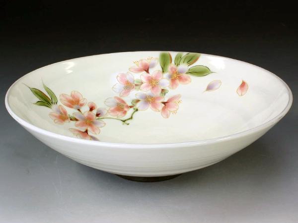 京焼・清水焼 鉢 トウア664 桜(さくら) 八寸鉢【送料無料】