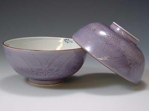 魅力的な価格 京焼・清水焼 組飯碗 LHT118 紫野【送料無料】, おおみ食品 d77f1e4a