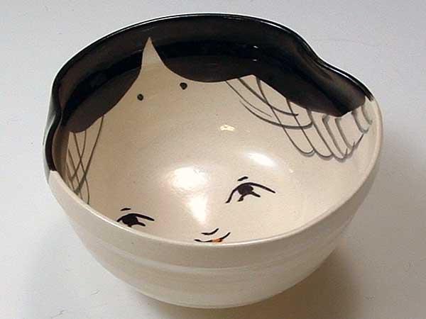 京焼・清水焼 お茶呑茶碗 QMI222 百福 5客セット
