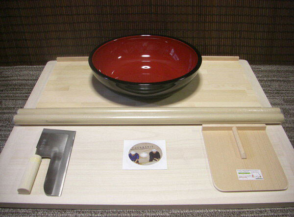 27c包丁42cこね鉢L判セット 固定木付きまな板プラス