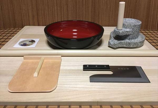L判蕎麦打ち道具 茶臼コラボセット cteto40 オフィス木村it21