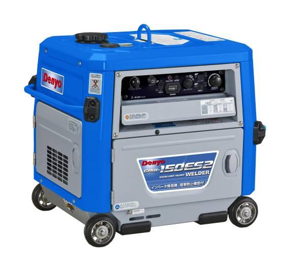 送料無料!(沖縄、離島・北海道除く)デンヨー 小型ガソリンエンジン溶接・発電機 GAW-150ES2 ガソリンエンジン溶接機+発電機 ウェルダー