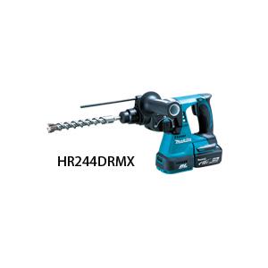 マキタ 充電式ハンマドリル HR244DZK 本体+ケースのみハンマードリル 18V 24mm