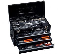 スーパーツール S7000DX 工具セット 62点 三段引出式
