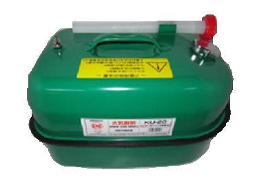 ギフ_包装 ガソリン携行缶 ユニオン 緑色 KU-20 グリーンカラー 20L 激安セール 軽油用携行缶 消防法適合品