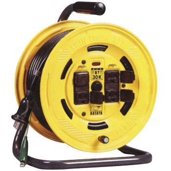 ハタヤ BT-30KS コードリール  アース・漏電遮断器・温度センサー付