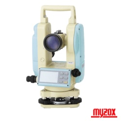マイゾックス デジタル 三脚付セオドライト DTC-110 電子 セオドライト