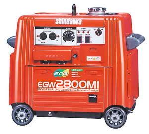 送料無料(沖縄・離島のぞく)新ダイワ エンジン溶接機 EGW2800MI インバーター発電付  shindaiwa
