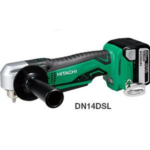 日立 HITACHI 14.4V 5.0Ah コードレスコーナドリル DN14DSL(LJCK) BSL1450(5.0Ah)・充電器・ケース付 フルセット