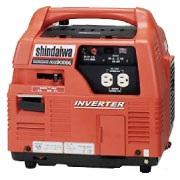 新ダイワ インバーター発電機 IEG900BG カセットボンベ