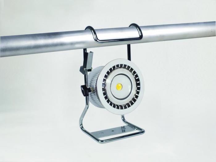 日動工業 充電式LEDライト  BAT-H10W-BE