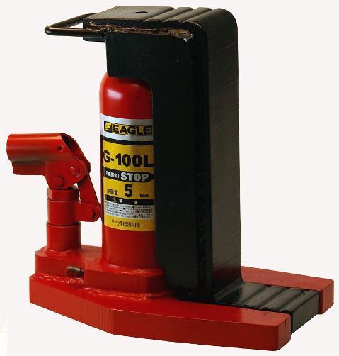 イーグル 油圧 爪つきジャッキ ロングタイプ G-100L
