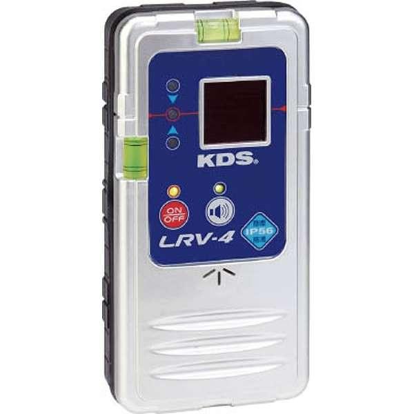 ムラテック KDS 防滴レーザー レシーバ LRV-4 クランプ付属レーザー墨出器用