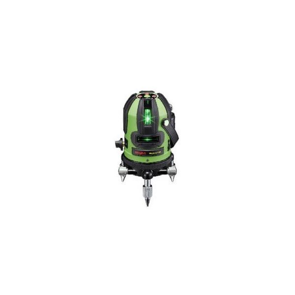 マイト工業 LDグリーンラインレーザー墨出し器 MLA-214G 受光器・三脚付 MLA-214G