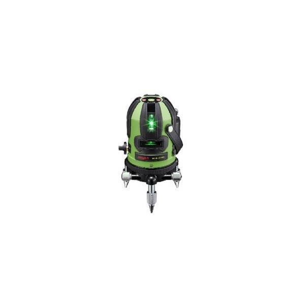 マイト工業 LDグリーンラインレーザー墨出し器 MLA-414G 受光器・三脚付 MLA-414G