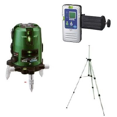 ムラテックKDS 高輝度グリーンレーザー ATL-45GRSA 受光器・三脚付 1年間完全保証付き!