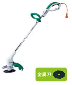 マキタ 電気式 草刈機 MUR1600N 金属刃 10Mコード付