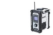 マキタ 充電式ラジオ MR102W 白 バッテリー.充電器別売
