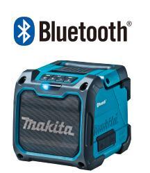 マキタ 充電式 スピーカ MR200 青 本体のみBluetooth対応 スピーカー