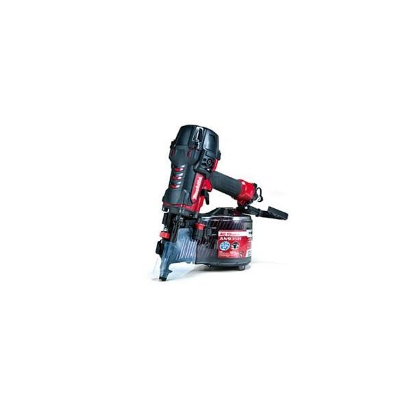 驚きの価格 90mm (エアダス付き):e-tool マキタ AN935H MAKITA 高圧エア釘打 赤-DIY・工具