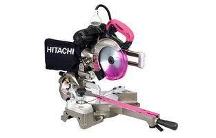 送料無料(沖縄、離島除く)日立 卓上スライド丸のこ C6RSHC 165mm  LEDライト レーザーマーカー付 押し切り マルノコ