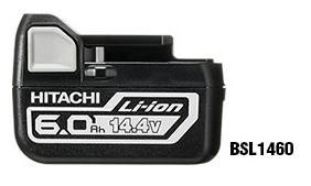日立 電池 BSL1460  大容量 6.0Ah 14.4V リチウムイオンバッテリー 正規品 純正