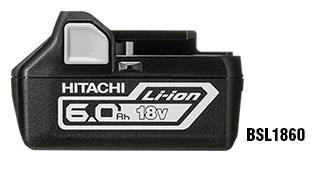 日立 電池 BSL1860 18V 大容量 6.0Ah リチウムイオンバッテリー HITACHI 純正品