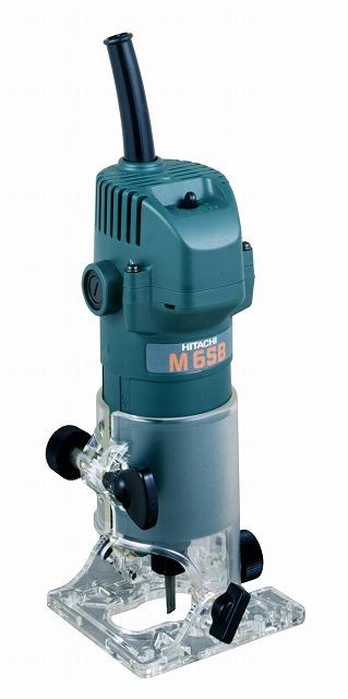日立工機 トリマー 軸径6mm 45゜傾斜可能 スピンドルロック付 M6SB