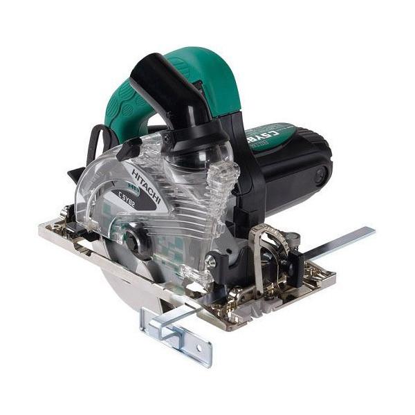 日立工機 集じん丸のこ のこ刃径125mm のこ刃別売り AC100V 1050W 傾斜切断可 LEDライト付 C5YB2(SN) ショートコード仕様、本体のみ