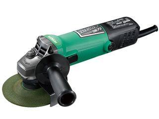 日立工機 200V 125mm 電子ディスクグラインダー G13S6 緑