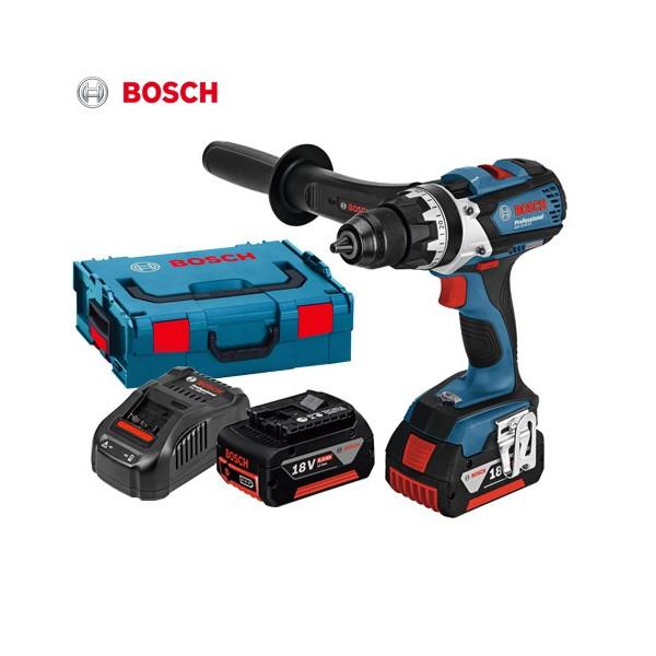 ボッシュ (BOSCH) 18V GSR18VE-EC バッテリードライバードリル セット 6.0Ah
