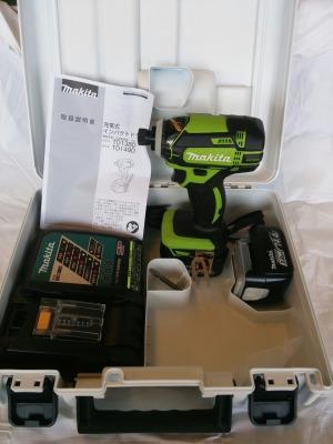 マキタ 充電式インパクトドライバ 14.4V TD138DRFXL ライム フルセット
