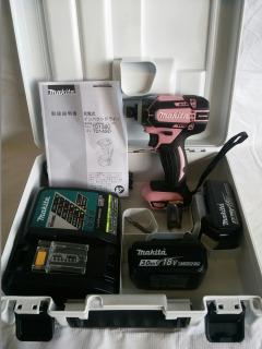 マキタ 充電式インパクトドライバ TD149DRFXP ピンク フルセット 18V