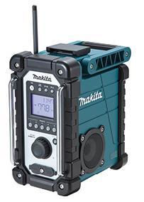 マキタ 充電式ラジオ MR107 青 防じん.防水