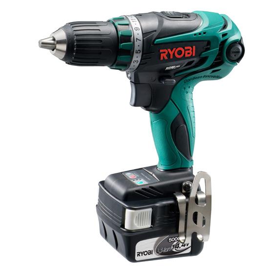 リョービ(RYOBI) 14.4V 充電式ドライバドリル BDM-143L5 647705A 5.0Ah セット