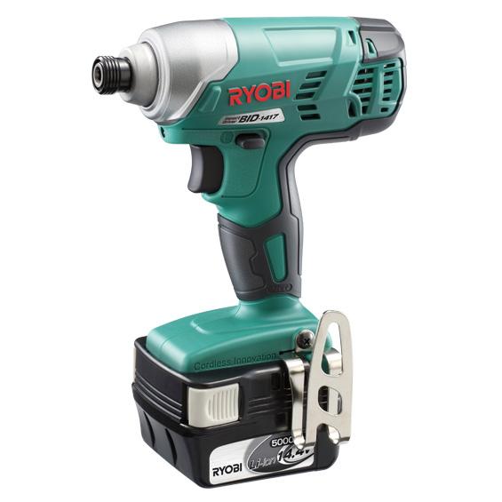 リョービ(RYOBI) 18V 充電式インパクトドライバ BID-1417L5 657706A 5.0Ah セット