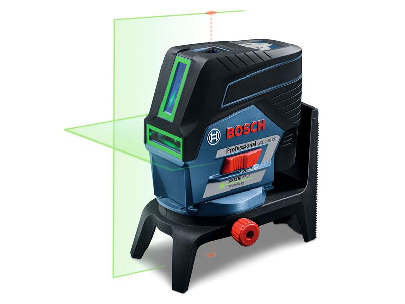 ボッシュ(BOSCH) レーザー墨出し器 GCL2-50CG キャリングケース付 グリーンレーザー