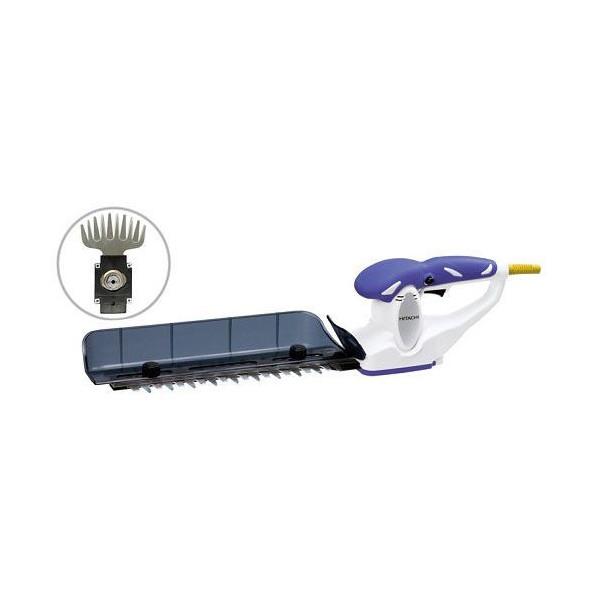 日立工機 植木バリカン 100V 刈込幅260mm FCH26SD(CG) 三面研磨刃、芝生バリカン用ブレード付