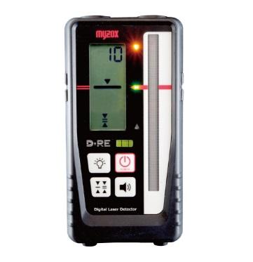 マイゾックス 測量機 レーザーレベル用デジタル受光器 D-RE 自動整準レーザーレベルMJ300対応 本体のみ