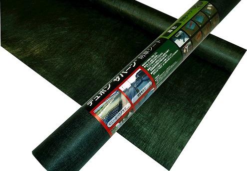 デュポン ザバーン 防草シート 136G グリーン 緑 1m×50m