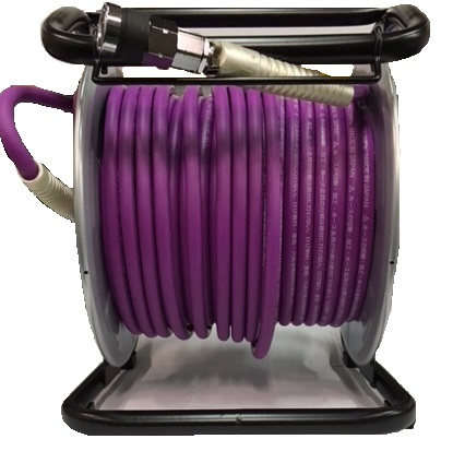 フジマック 高圧用 エアードラム 6.0mm×30m W17MD-630C 釘打機 パープル 限定色 マッハ