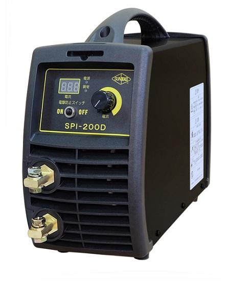 サンピース 新型デジタル直流インバータ溶接機 SPI-200D マイト工業製